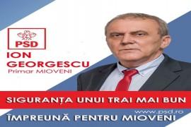 """Ion Georgescu și-a anunțat candidatura pentru un nou mandat la Mioveni: """"Continuăm împreună!"""""""