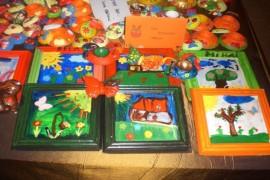 Expoziție a copiilor instituționalizați din Argeș! Toate sunt făcute de ei…