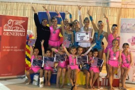 Gimnastele de la Olimpic Gym – medalii de aur la Campionatul Internațional de la Brașov